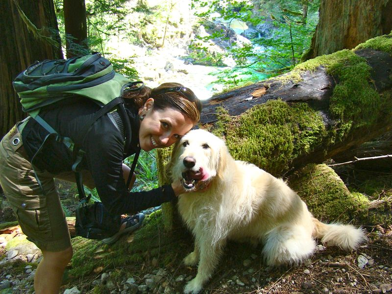 Hiking with the pooch - What Matters Most Now blog