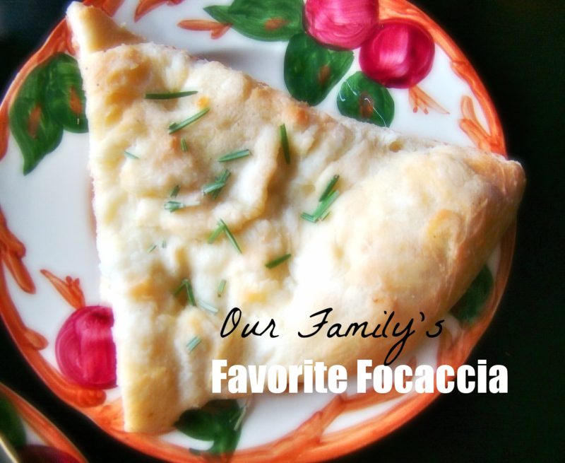 Our Favorite Focaccia - What Matters Most Now Blog