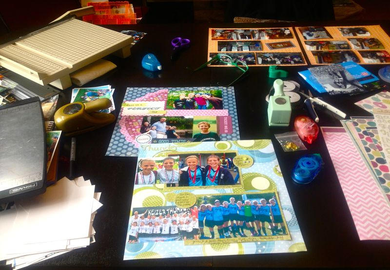 scrapbooking - what matters most now blog