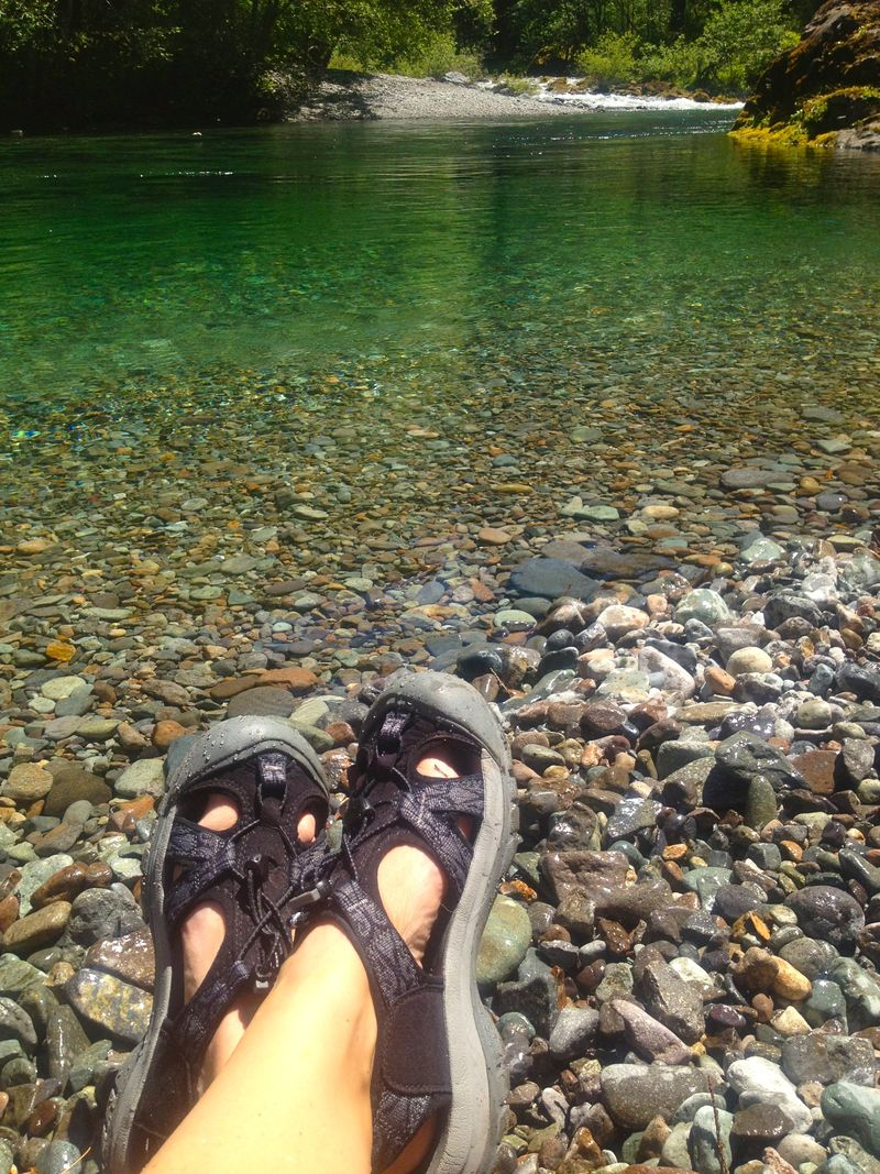 Clear Pool, River, River Rock - What Matters Most Now blog