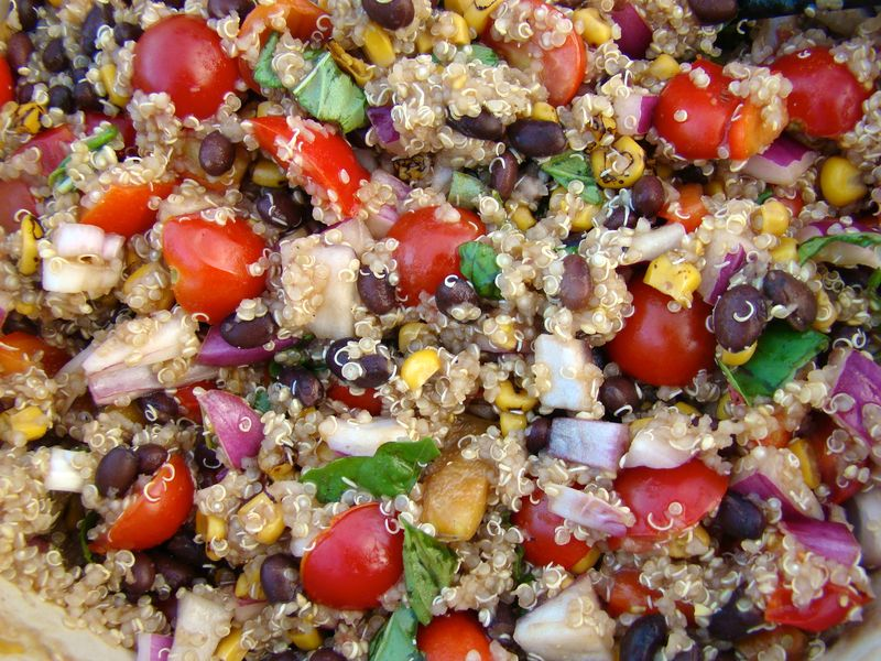 our favorite quinoa www.whatmattersmostnow.typepad.com