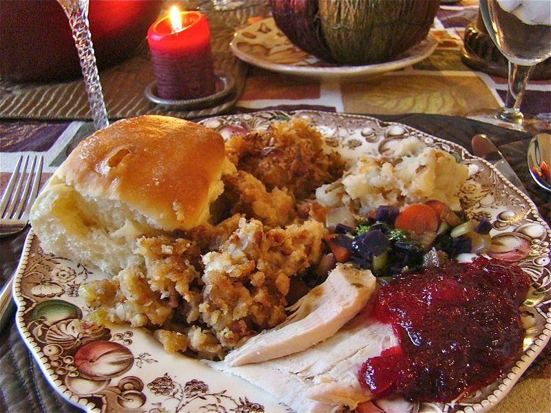 Thanksgiving turkey dinner whatmattersmostnow.typepad.com