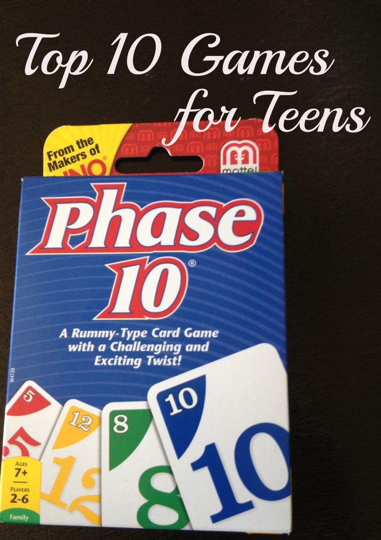 top 10 favorite family games appealing to teens: gift ideas (what