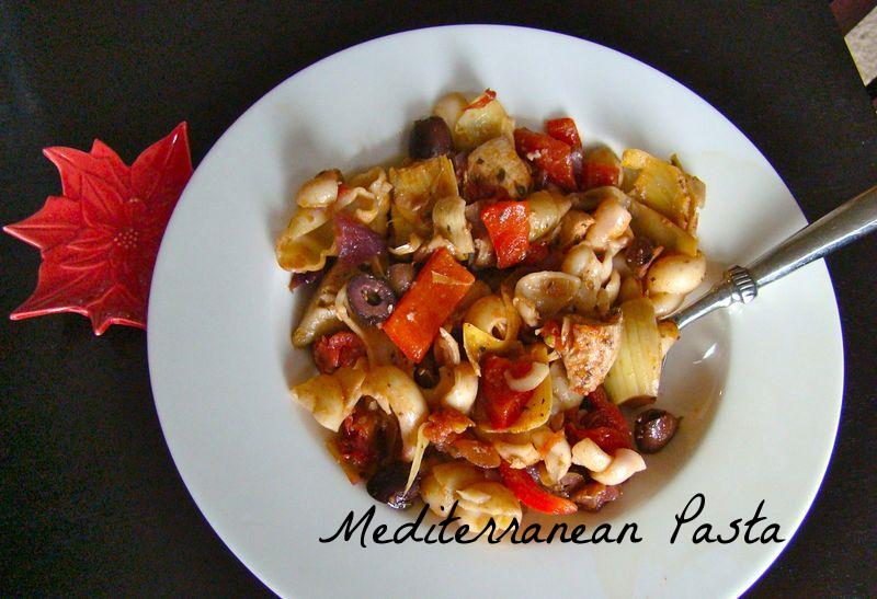 Mediterranean Pasta Toss - image from whatmattersmostnow.typepad.com