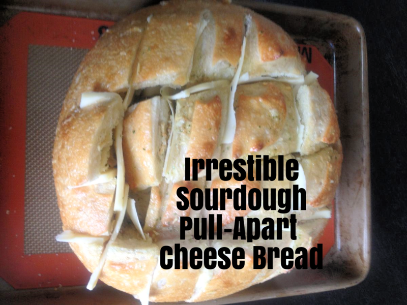 sourdough cheese pull apart bread Image from: WhatMattersMostNow blog