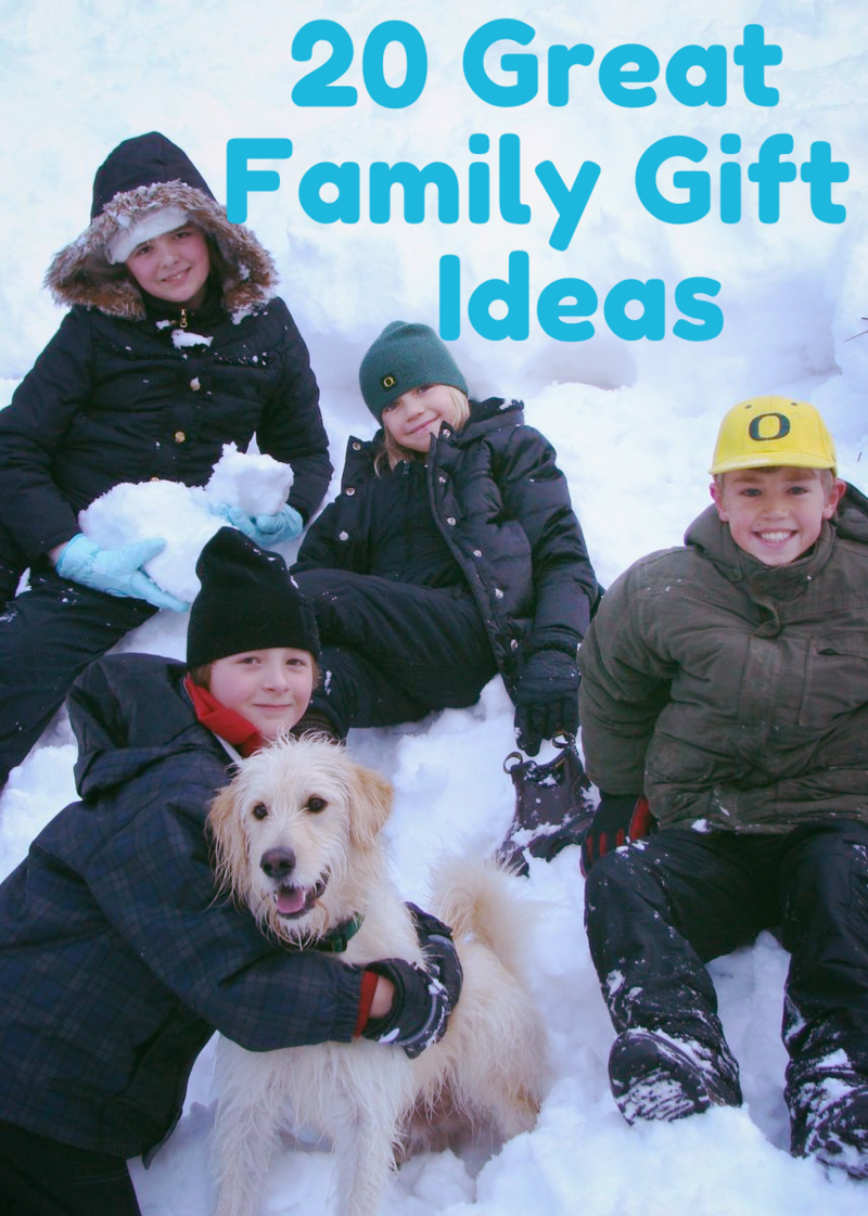 20 Great Family Gift Ideas/Experiences #WhatMattersMostNow blog