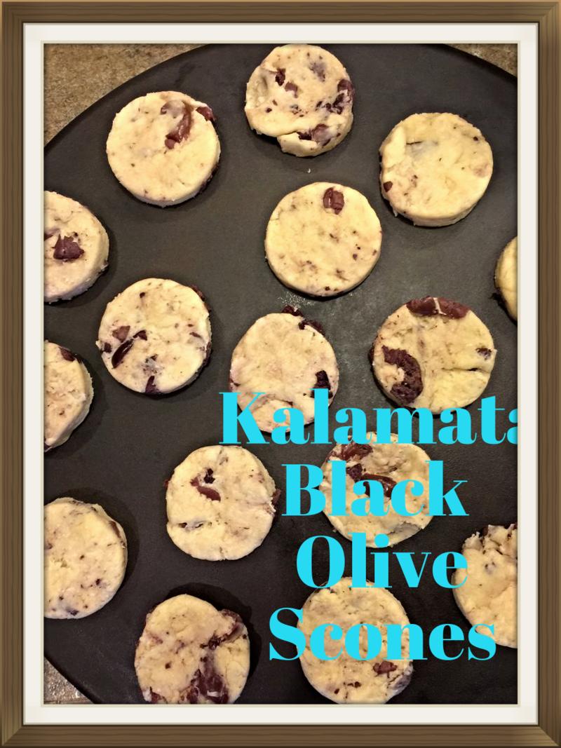 Kalamata Black Olive Scones