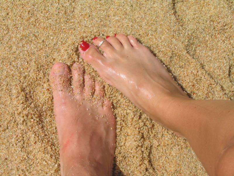 Cabo San Lucas sand www.whatmattersmostnow.typepad.com