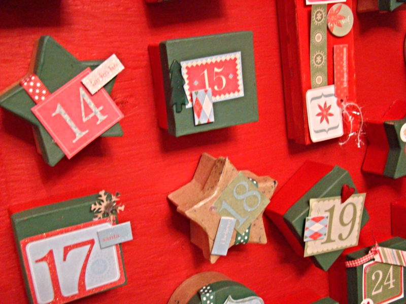 25 Advent Calendar Countdown Ideas: WhatMattersMostNow Blog