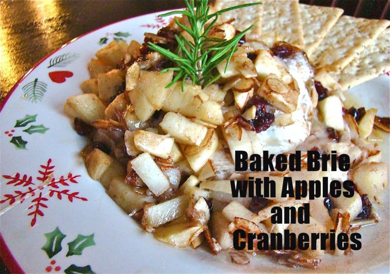 Baked Brie Appetizer www.whatmattersmostnow.typepad.com