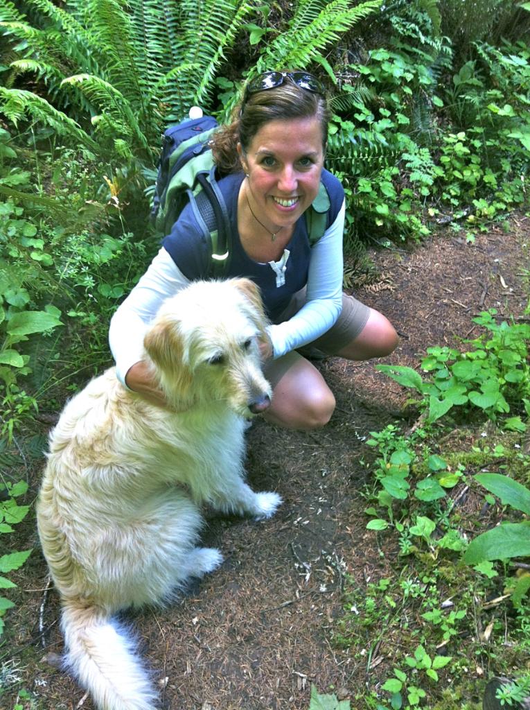 labradoodle hiking dog whatmattersmostnow.typepad.com