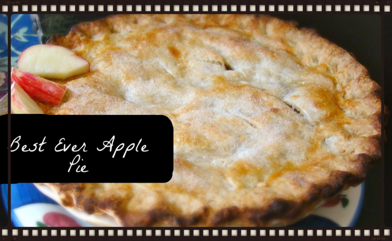 Best Ever Apple Pie www.whatmattersmostnow.typepad.com