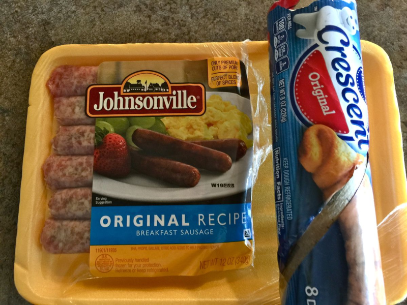 sausage recipe #Johnsonville #Pillsbury whatmattersmostnow.typepad.com